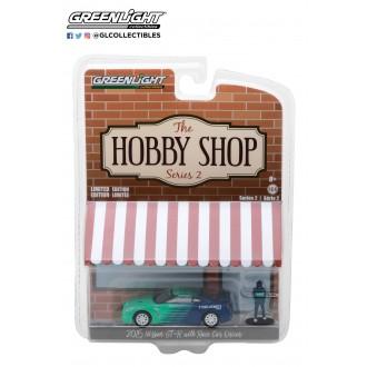 Greenlight 1:64 The Hobby Shop - 2015 Nissan GT-R Falken
