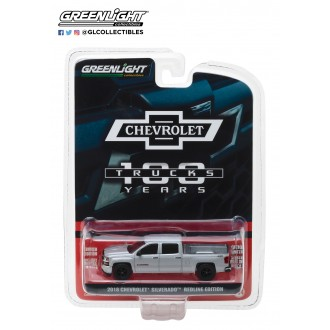 Greenlight 1:64 Anniversary Collection 2018 Chevrolet Silverado Redline Edition