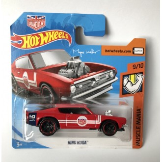 Hot Wheels 1:64 King Kuda Red