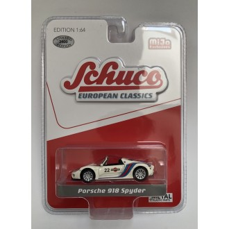 Schuco 1:64 European Classic - Porsche 918 Spyder