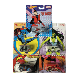 Hot Wheels 1:64 Set - Marvel