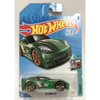 Hot Wheels 1:64 C6 Corvette Green