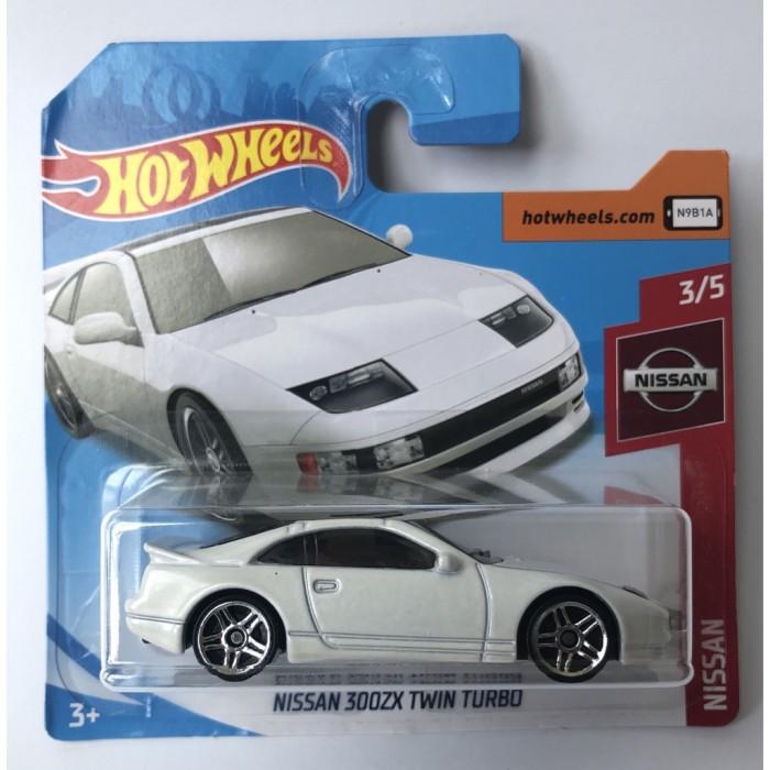 Hot Wheels 1:64 Nissan 300 ZX Twin Turbo White