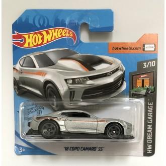 Hot Wheels 1:64 '18 Copo Camaro SS Silver