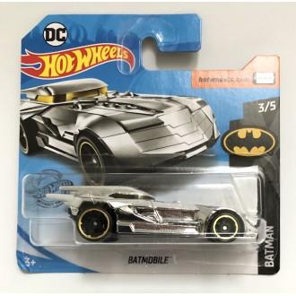 Hot Wheels 1:64 Batmobile Chrome