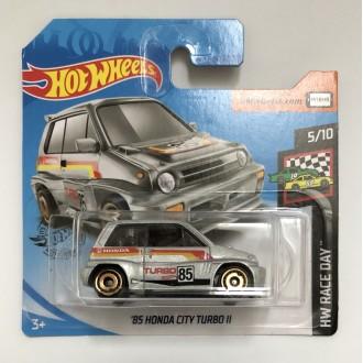 Hot Wheels 1:64 '85 Honda City Turbo II Silver