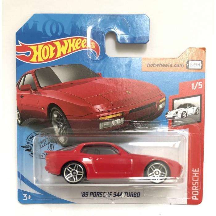 Hot Wheels 1:64 '89 Porsche 944 Turbo Red