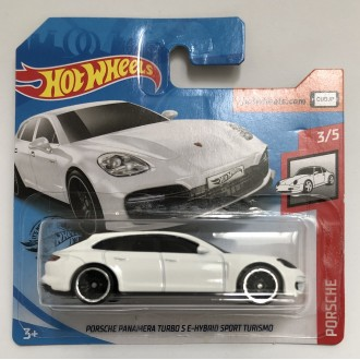 Hot Wheels 1:64 Porsche Panamera Turbo S E-Hybrid Sport Turismo White
