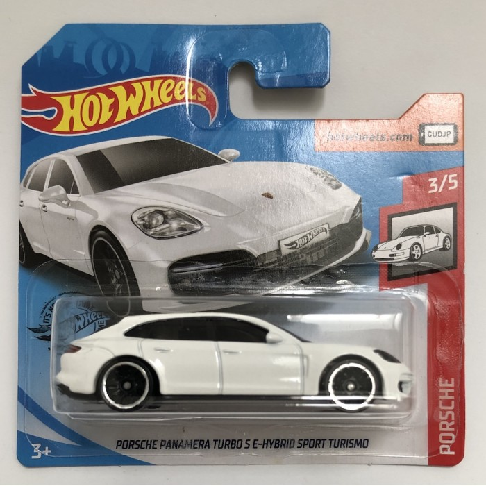 Hot Wheels 1:64 Porsche Panamera Turbo S E-Hybrid Sport Turismo White