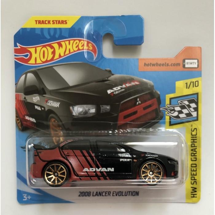 Hot Wheels 1:64 2008 Lancer Evolution
