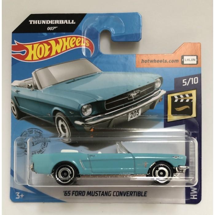 Hot Wheels 1:64 '65 Ford Mustang Convertible