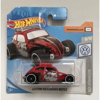 Hot Wheels 1:64 Custom Volkswagen Beetle Red