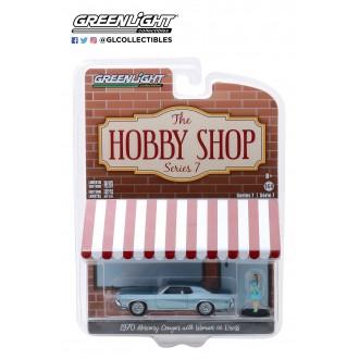 Greenlight 1:64 The Hobby Shop - 1970 Mercury Cougar