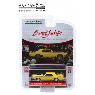 Greenlight 1:64 Barrett Jackson - 1970 Mercury Cougar Eliminator 428 CJ