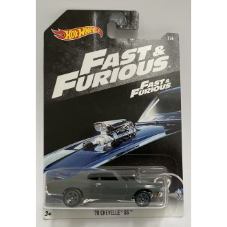 Hot Wheels 1:64 Fast & Furious 2018 - '70 Chevelle SS