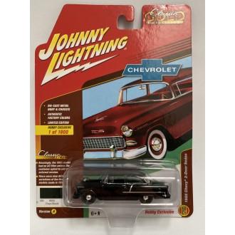Johnny Lightning 1:64 Classic Gold - 1955 Chevy 2-door Sedan