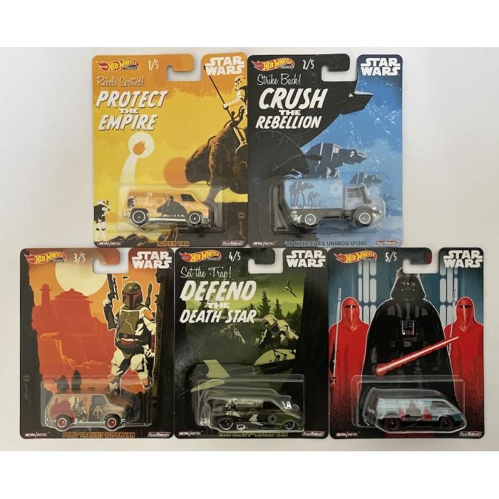 Hot Wheels 1:64 Set- Pop Culture - Star Wars