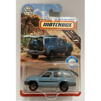 Matchbox 1:64 Moving Parts - 2000 Nissan Xterra Blue