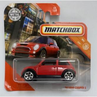 Matchbox 1:64 '03 Mini Cooper S