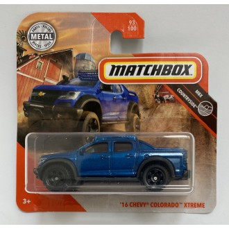 Matchbox 1:64 '16 Chevy Colorado Xtreme