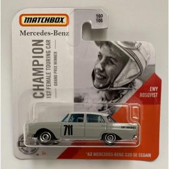 Matchbox 1:64 '62 Mercedes-Benz 220 SE Sedan