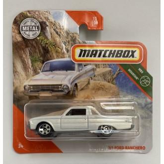 Matchbox 1:64 '61 Ford Ranchero White