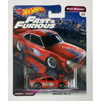 Hot Wheels 1:64 Fast & Furious - Mazda RX-3