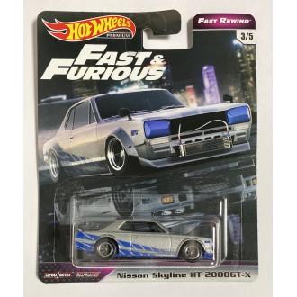 Hot Wheels 1:64 Fast &...