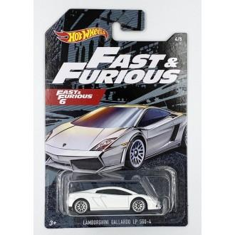 Hot Wheels 1:64 Fast & Furious - Lamborghini Gallardo LP 560-4