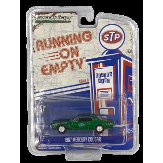 Greenlight 1:64 Running On Empty - 1967 Mercury Cougar Green Machine