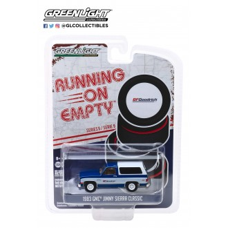 Greenlight 1:64 Running On Empty - 1983 GMC Jimmy Sierra Classic