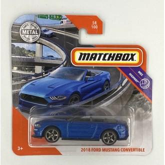 Matchbox 1:64 2018 Ford Mustang Convertible
