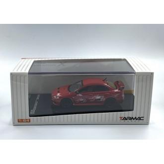 Tarmac 1:64 Mitsubishi Lancer Evo X Ralliart Red