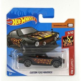 Hot Wheels 1:64 Custom Ford Maverick Flames