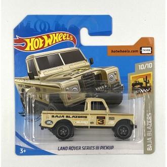 Hot Wheels 1:64 Land Rover Series III Pickup Creme