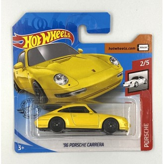 Hot Wheels 1:64 '96 Porsche Carrera Yellow