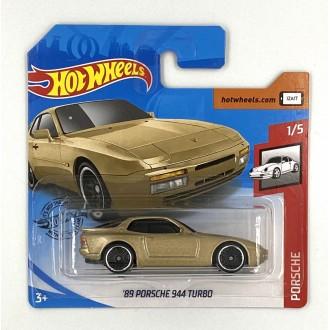 Hot Wheels 1:64 '89 Porsche 944 Turbo Gold