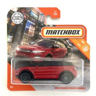 Matchbox 1:64 2014 Range Rover Evoque Red