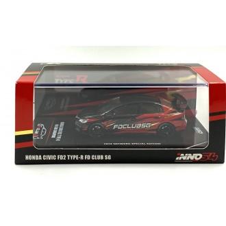 Inno64 1:64 Honda Civic FD2...