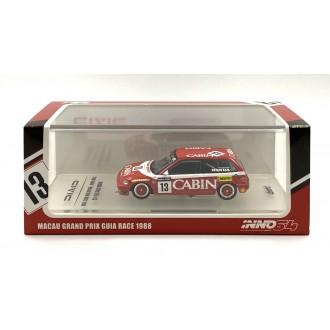 Inno64 1:64 Honda Civic EF3 Team Cabin 13