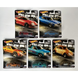 Hot Wheels 1:64 Cruise Boulevard - Set 5 szt.
