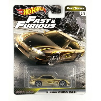 Hot Wheels 1:64 Fast & Furious - Nissan 240SX (S14)