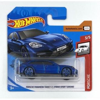 Hot Wheels 1:64 Porsche Panamera Turbo S E-Hybrid Sport Turismo Blue