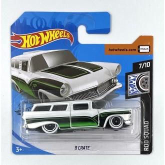 Hot Wheels 1:64 8 Crate White