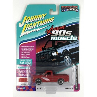 Johnny Lightning 1:64 Muscle Cars U.S.A. - 1991 GMC Syclone Red