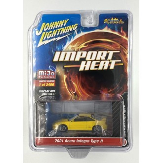 Johnny Lightning 1:64 - 2001 Acura Integra Type-R Yellow