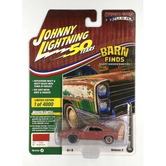 Johnny Lightning 1:64 Muscle Cars U.S.A. - 1969 Dodge Charger Daytona