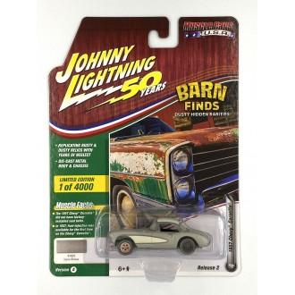 Johnny Lightning 1:64 Muscle Cars U.S.A. - 1957 Chevy Corvette