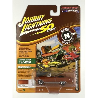 Johnny Lightning 1:64 Muscle Cars U.S.A. - 1967 Plymouth GTX Convertible