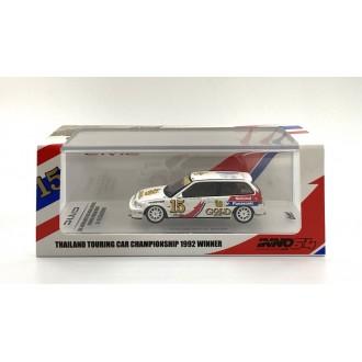 Inno64 1:64 Honda Civic EF9 Thailand Touring Car Championship 1992 Winner